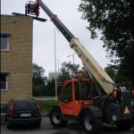 Teleskoplastare JLG 3512